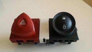 Botones Warning y Cierre Centralizado Renault