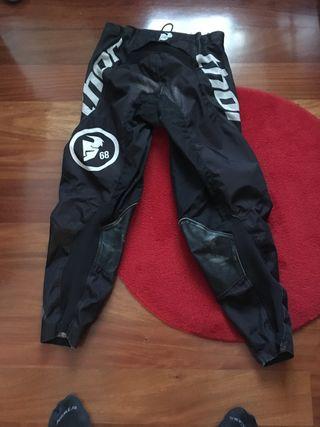 Pantalones thor descenso motocros