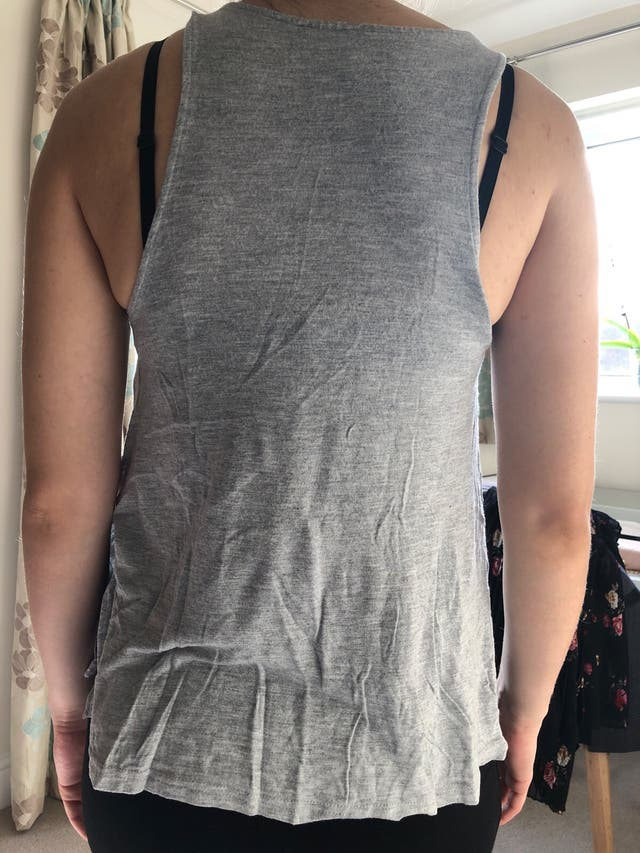 Grey top from H&M