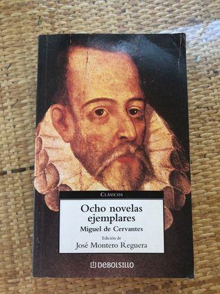 Libro ocho novelas ejemplares