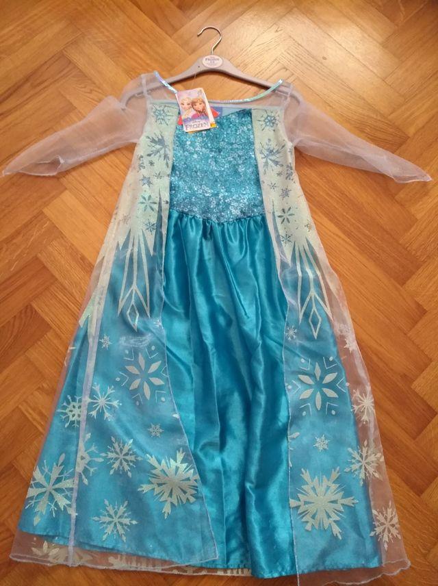 85db5d88ea1 Disfraz frozen Elsa de segunda mano por 10 € en Alsasua en WALLAPOP