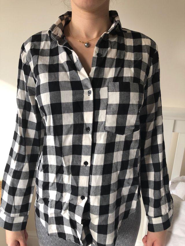 Checkered shirt from Zara basic