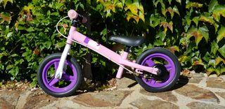 Bicicleta sin pedales niños 2-4 años