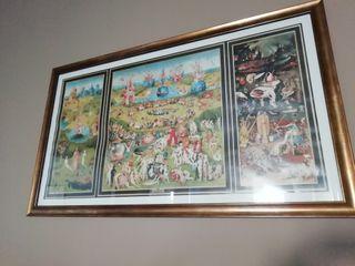 cuadro, lámina y Marco El jardín de las Delicias