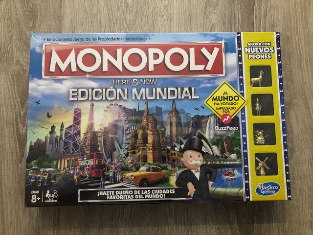 Juego De Mesa Nuevo Monopoly Edicion Mundial De Segunda Mano Por 20