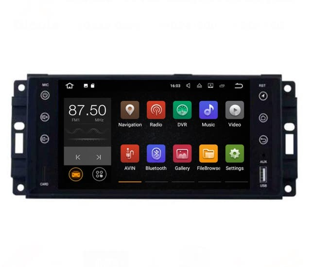 Navegador Android Jeep/Dodge