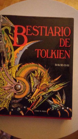 Leyendo actualmente Bestiario de Tolkien - David Day