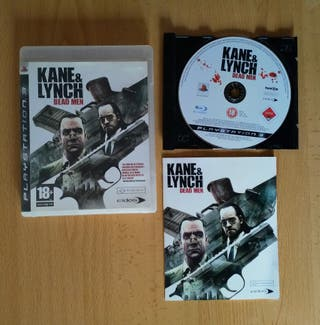Vendo Kane & Lynch Dead Men para PlayStation 3 PS3
