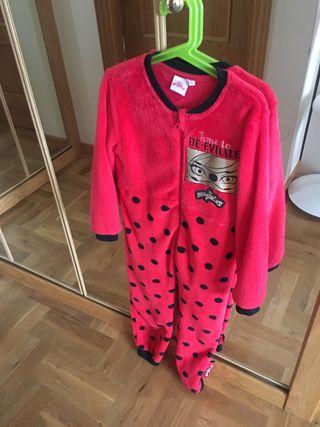 Pijama mono Lady Bug