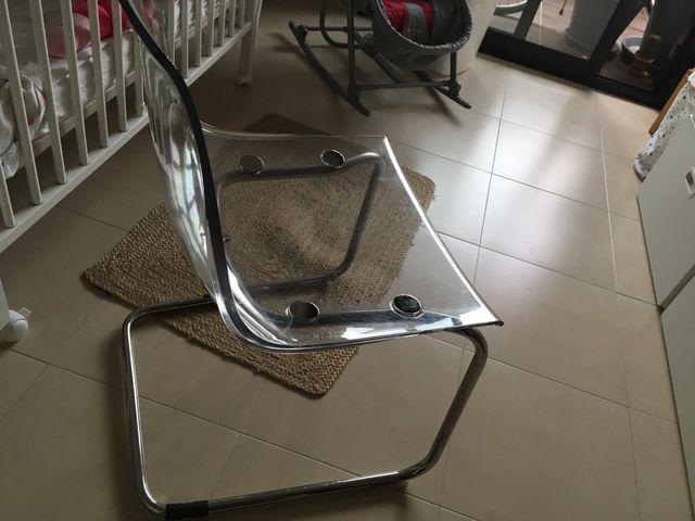 Silla tobias excellent silla mecedora eames blanco with - Silla mecedora ikea ...