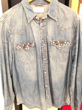 Camisa Vaquera Ralph Lauren Denim & Supply T-XL