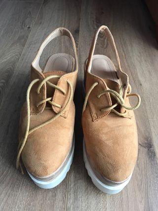 En Wallapop Para Mano Mujer Plataforma De Segunda Zapatos Con CRP6qxwxg