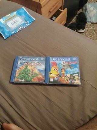 2 juegos de la Dreamcast
