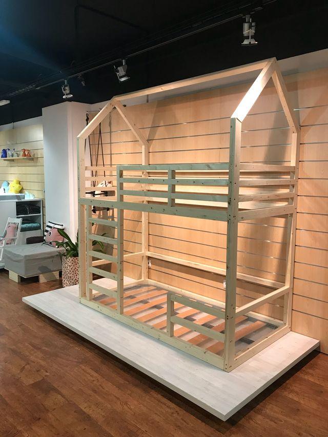 Estructura Litera Montessori Hecha A Medida De Segunda Mano Por 399