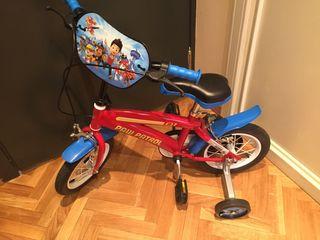 Bicicleta Patrulla Canina NUEVA