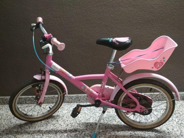 97c4063e8 Bicicleta decathlon btwin princess 16
