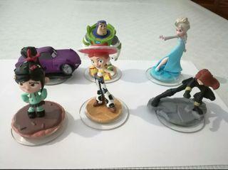 6 Figuras Infinity Disney