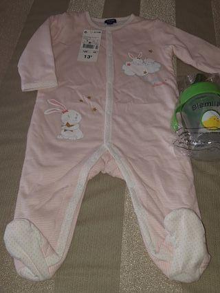 Pijama buzo o sobrepijama 6 meses (63 -69 cm )
