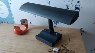 Lámpara despacho antigua vintage 50s