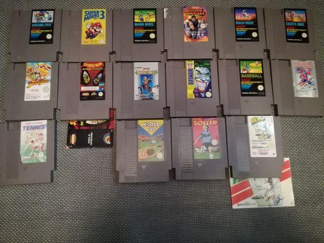 Pack Juegos Nintendo Nes Originales De Segunda Mano Por 8 En