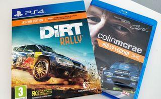 Caja y Blu-ray de extras (Dirt Rally)