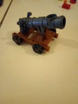 cañon medieval playmobil