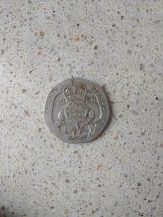 moneda gran Bretaña