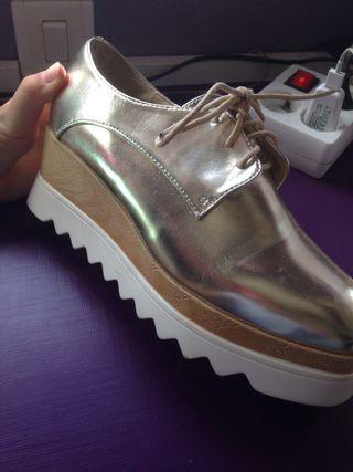 zapatos arreglados