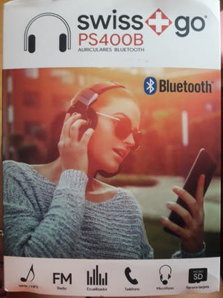 Auriculares Bluetooth Swiss + go PS400B