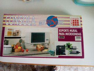 Microondas de colores de segunda mano en la provincia de Vizcaya. Soporte  para microondas color blanco cd358ae9dd67