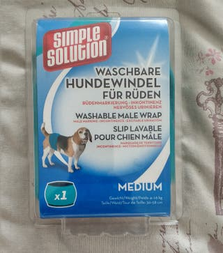Braguita incontinencia perros