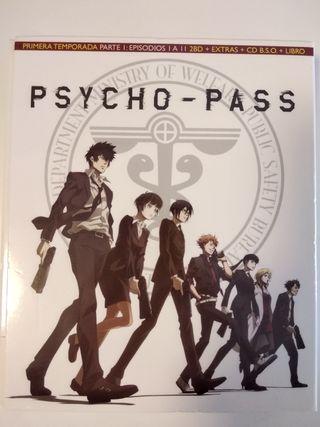 Psycho Pass bluray coleccionista