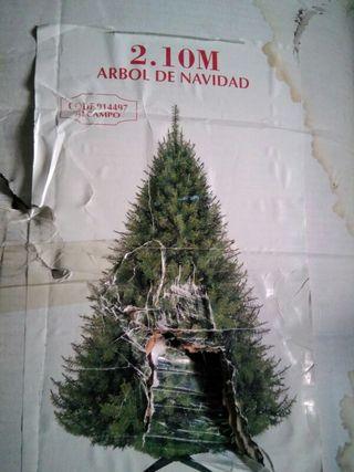 Árbol de Navidad de 2,10 m