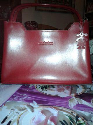 bolso polipiel rojo