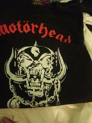 camiseta rock motorhead
