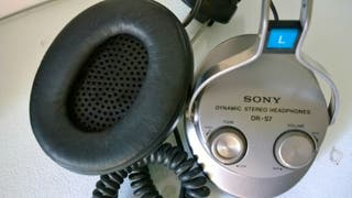 Sony DR-S7 Headphones Auriculares Vintage