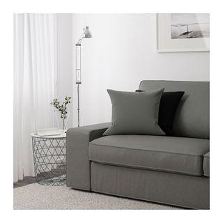 Sofa Sillon 3 plazas Verde Grisaceo Poco Uso