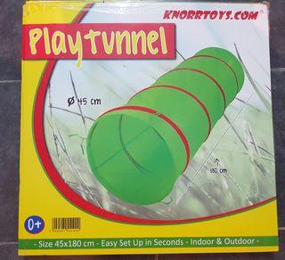 Tunel de juego, sicomotricidad