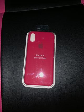 Funda iPhone X precintada nueva