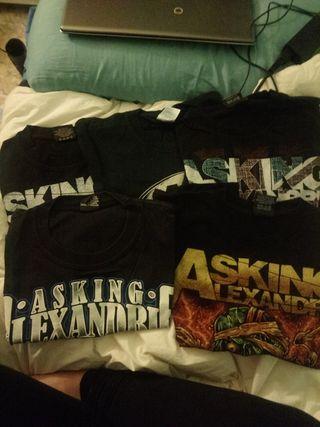 camisetas rock asking alexandria