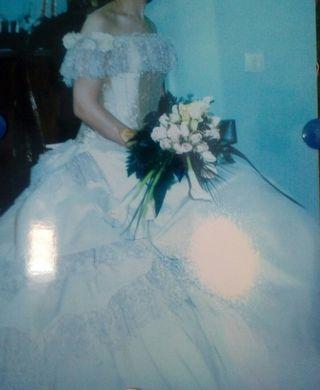 vestido de novia pronovias de segunda mano en ciudad real en wallapop