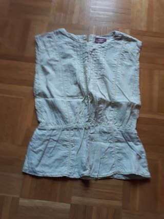 Camisa niña color pistacho