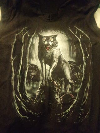 Camiseta lobo emp Spiral