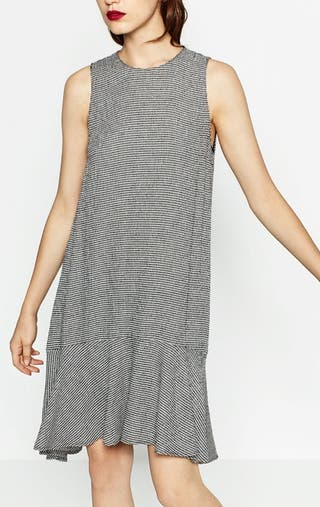 Vestido Zara con volumen