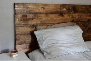 Cabecero de cama Rustico madera palets