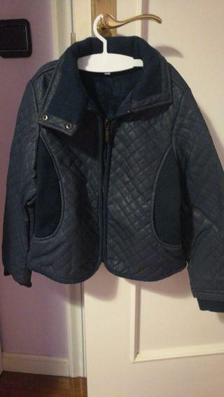 chaqueta cuero. talla 8