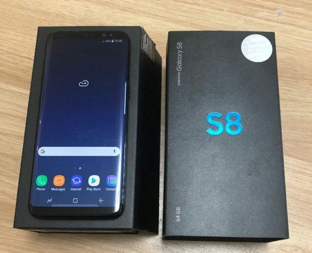 Samsung Galaxy S8 Black Onyx Used Unlocked