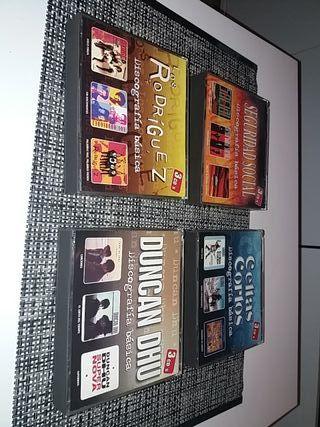 4 recopilatorios de cd