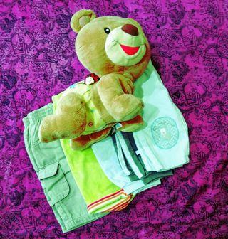 pantalones talla de 0 a 3 meses
