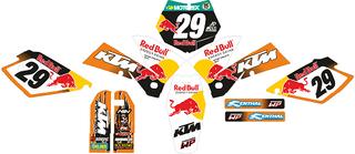 PEGATINAS PARA KTM 2005, 2006 Y 2007